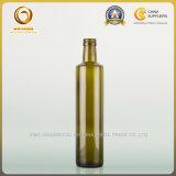 Cozinhando os frascos de vidro de tampão de parafuso do petróleo verde-oliva 500ml Dorica (377)