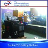 Máquina de estaca do plasma do CNC do pórtico para o Kr-Xgb profissional da estaca da tubulação de aço e da placa