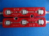 Модуль 5050 впрысок СИД прямой связи с розничной торговлей фабрики цветастый