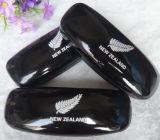 Cassa di cuoio nera su ordinazione del regalo degli occhiali da sole