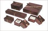 Boîte de papier à vin/boîte-cadeau pliable de vin