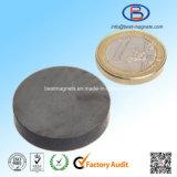 Магниты феррита формы диска высокого качества D25X8 Y30bh неравносвойственные
