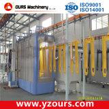 Ligne de revêtement automatique en poudre pour produits métalliques de couleur rapide