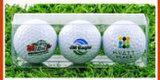 多彩なロゴによってカスタマイズされる安い昇進のゴルフ・ボール