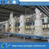 Macchina di riciclaggio di plastica residua Integrated