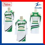Totalmente Healong sublima damas y caballeros vestidos Unifroms Cheerleading personalizado