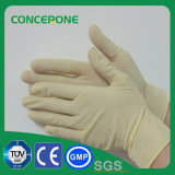 De Niet-steriele Onderzoek Gepoederde Handschoen van het latex