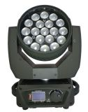 Éclairage de scène Zoom 19x12W Déplacement de la tête de lumière à LED