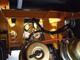 CBM 45の4の車軸ダンプカーのセミトレーラー