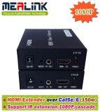 разбиватель 150m HDMI одиночным Cat5e/6