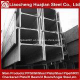 Poutre en double T normale laminée à chaud d'acier de construction en métal dans le prix par kilogramme