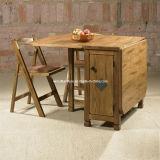 Mesa de comedor de madera mesa plegable Drevoland 190x80cm