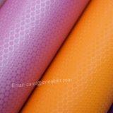 Bordados em couro PU artificial, bolsa de couro, cabedais de couro