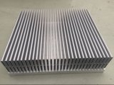 Il dissipatore di calore con il profilo di alluminio del dissipatore di calore del ventilatore si è sporto