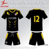 Формы футбола подростка сублимации шестерни одеяния обслуживания ODM Healong Китая