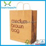 Kundenspezifischer Packpapier-Beutel mit Griff