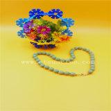 De eenvoudige Halsband van de Parels van de Manier Zuivere Natuurlijke Geoptimaliseerde Verwerkende Turkooise