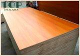 1220*2440 (4*8) 6/9/15/12/18mm/grano de madera de teca Roble melamina madera contrachapada con pegamento WBP para muebles/Decoración