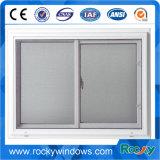 Perfil de alumínio janelas de correr com rede mosquiteira