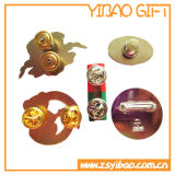 Pin su ordinazione del risvolto della lampadina con colore giallo dello smalto (YB-SM-50)