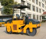 3000kg TrillingsRol van de Trommel van de Apparatuur van de weg de Dubbele voor Verkoop Yzc3