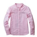 Vente en gros Custom Dernière New Cotton School Uniform Girls Shirts