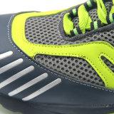 Модные кожаный резиновый ботинки безопасности