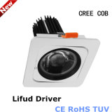 Philips/Lifud 10With15With20W CREE-PFEILER LED Downlight Weiß-Silber