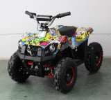 Big Wheel 49cc Mini ATV Quad con CE, 2 Stroke Air Cooled 49cc Mini Moto Quad (ET-ATV049)