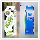1000ml 3 couche carton de lait pasteurisé Gable Top