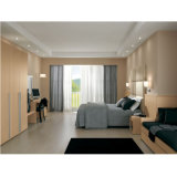 Праздник меламина отеля мебель из дуба деревянные кровати