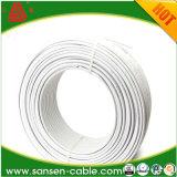 Funda tipo plano BVVB Cable eléctrico de 2 núcleos con toma de tierra 2x1,5 mm2