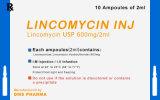 Le chlorhydrate de la lincomycine Westren Westren médecine Pharma pour les humains
