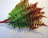 装飾的な茎および葉の結婚式の人工花