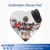 Pista de ratón de la sublimación de la impresión del traspaso térmico/estera en blanco