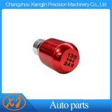 O botão de mudança de carro de precisão CNC o alumínio