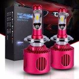 내부 드라이브 자동 LED Headlamps 항공 알루미늄 20 와트수 H7 LED 헤드라이트