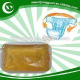 China proveedor de materias primas de pañal Henkel de adhesivo termofusible