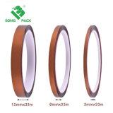 Los dedos de oro de poliimida cinta cinta cinta Heat-Resistant para PCB