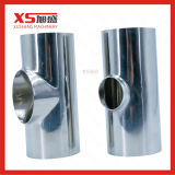 T uguale sanitario dell'acciaio inossidabile di SS304 SS316L breve