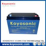 Estante de la batería de la batería 100ah del AGM de la batería 12V 100ah de la UPS