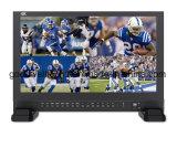 """Vierradantriebwagen-aufgeteilte Bildschirmanzeige-Sendung 17.3 """" TFT LCD IPS-4K UHD 3840X2160 4xhdmi 3G SDI"""