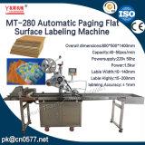 Máquina de etiquetado automática de la superficie plana de la paginación para las bolsas de plástico (MT-280)