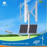 제조자 Ce/RoHS/FCC는 팔 Bridgelux LED 바람 태양 가로등을 골라내거나 두배로 한다