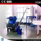 Trituradora plástica del tubo de la máquina del saco