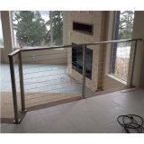 Maison moderne escalier balustrade balustrade Câble en acier inoxydable