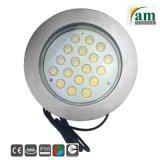 indicatore luminoso subacqueo della piscina di 316ss 54watt IP68 LED