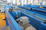 Metallblatt-Ausschnitt-Maschine 10/2500mm, hydraulische Träger-Schere des Schwingen-QC12Y-10/2500, hydraulische scherende Maschine QC12Y-10/2500
