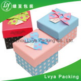 Rectángulo de papel cosmético impreso aduana barata para el empaquetado del regalo