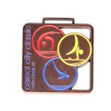 Großhandelsmedaillen-Sport-Medaillen-Aufhängung des zoll-3D